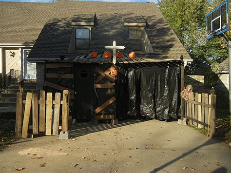 haunted backyard ideas triyae backyard haunted house ideas various design