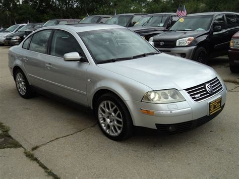 Passat W8 For Sale by 2003 Volkswagen Passat W8 4motion For Sale In Cincinnati