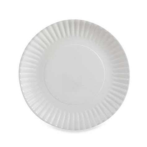 bed bath and beyond plates polypropylene paper plate bed bath beyond