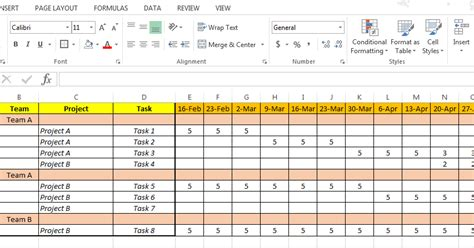 resource management excel template resource planning template free