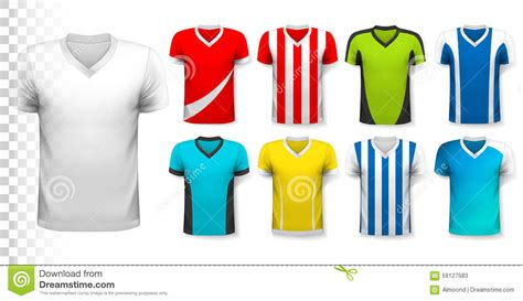 design soccer jersey online free collection of various soccer jerseys stock vector image