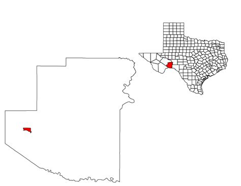 sanderson texas map file terrell county sanderson svg wikimedia commons