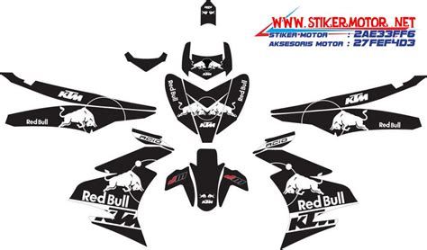 Sticker Striping Motor Stiker Suzuki Sky Wave Hijau Spec A 2 striping motor yamaha jupiter mx king bull ktm