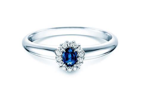 Verlobungsringe Diamant by Verlobungsring Saphir 0 25ct Mit Diamant 0 06 Ct 450069