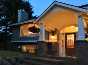 Average Cost To Paint Home Interior Barrel Vaulted Porch Traditional Exterior Portland