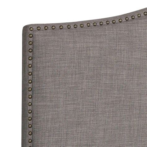 White Leather Studded Headboard Studded Headboards White Tufted Headboard King Tufted
