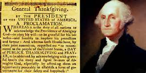 the first thanksgiving proclamation proclamation signed by george washington at cristie s