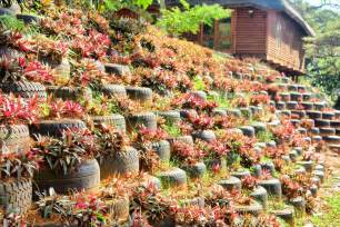 Tire Flower Planters 29 flower tire planter ideas for your yard and home