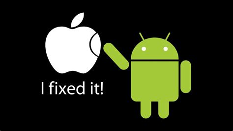 is apple or android better creating s android logo was like raising a child information strategy