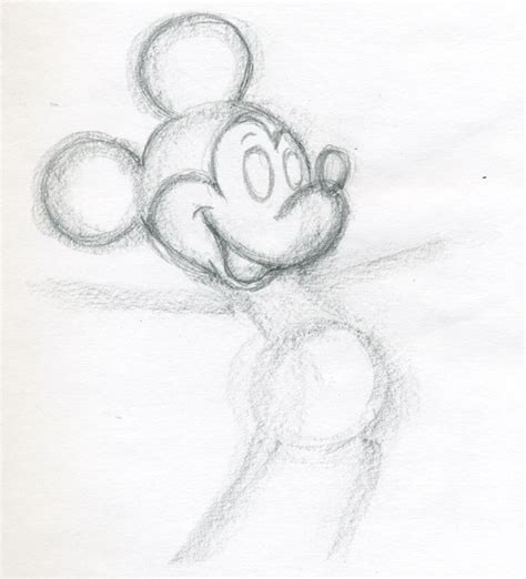 Sketches I Can Draw by Draw Mickey Mouse