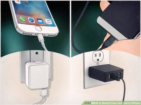 switch from android to iphone how to switch from android to iphone with pictures wikihow
