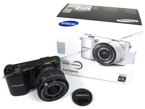 Kamera Samsung Nx2000 die kamera testbericht zur samsung nx2000 testberichte