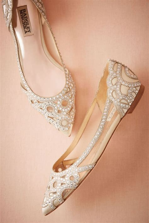 flat bridal shoes 10 flat wedding shoes that are just as chic as heels