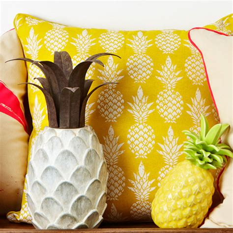 pineapple trend six pieces to instantly update your home for summer