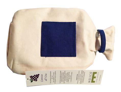 cuscino freddo cuscino con semi d uva moeco uso a caldo e freddo