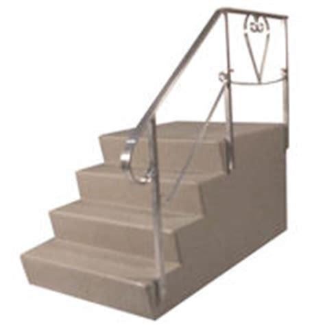 aluminum step rails