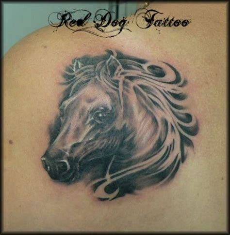 horse face tattoo designs 50 design collection golfian