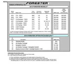 Subaru Forester Size Subaru Forester Width 2017 Ototrends Net