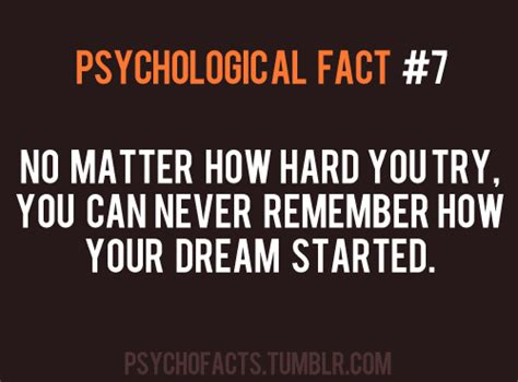 psychological facts on