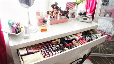 Makeup Room Decor Vanity Makeup Collection Room Makeup Storage Room Decor Girly Room Glam Room Www