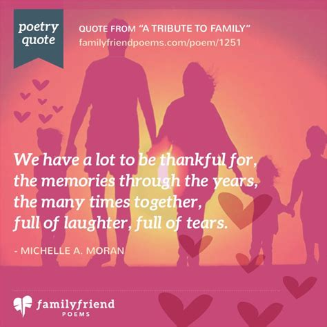 A Friend Of The Family by Family Poems Loving Poems About Family Relationships