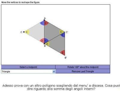 somma angoli interni di un poligono matematicamedie somma degli angoli interni dei poligoni