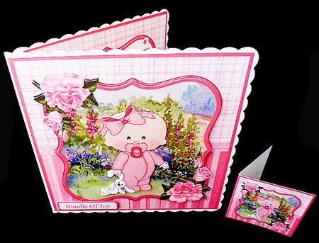 Decoupage Kits Sale - new baby mini kit decoupage cup611773 1894