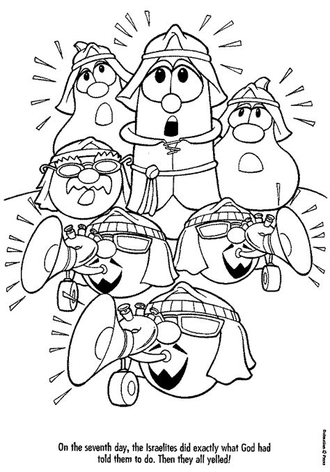 veggietales coloring pages i love veggietales