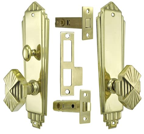 deco interior door hardware deco interior privacy door set with tubular latch and