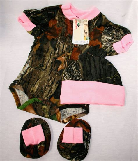 mossy oak pink camo clothing mossy oak camo pink infant baby set