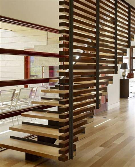 idea for wood metal mix decorations 37 unikale beispiele f 252 r modernes treppen design