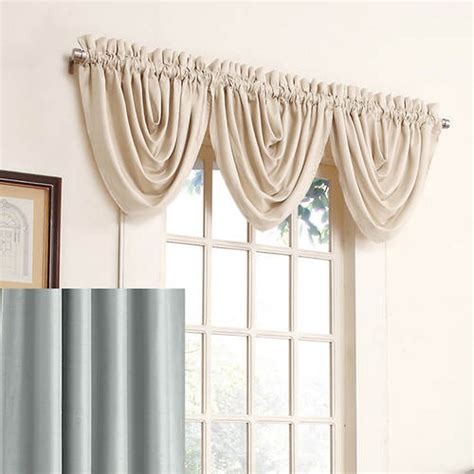 antique satin draperies antique satin waterfall valance harbor out of stock