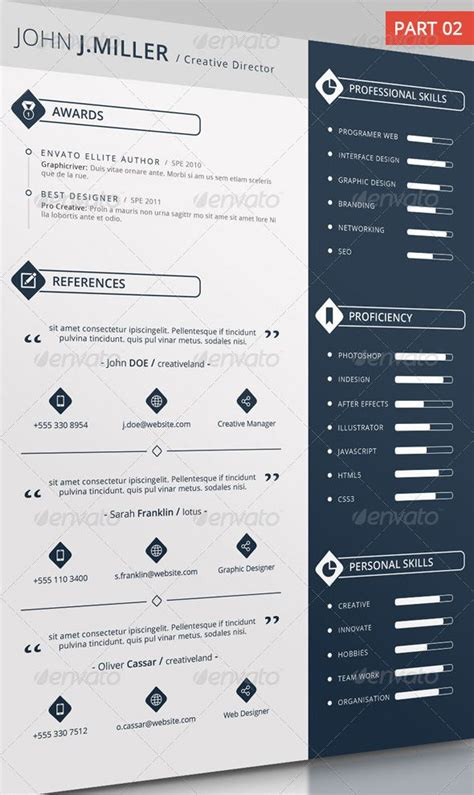Cool Resumes by 18 Best Cool Resumes Images On Resume Design