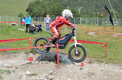 Elektro Motorrad Trail by Oset Gasgas E Trial Bike Park In Hoch Imst