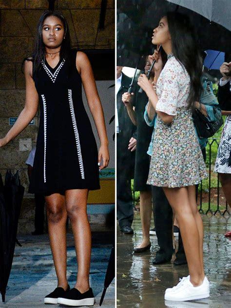 obama 2016 sasha malia and sasha obama wear all of this season s trends on