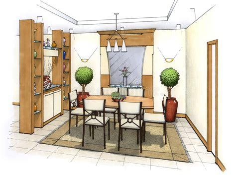clipart pranzo sala da pranzo illustrazione di stock illustrazione di