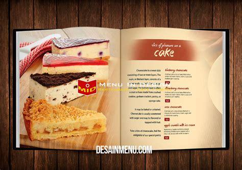 Buku Menu desainer buku menu