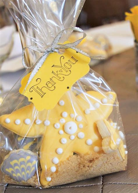 starfish themed bridal shower favors lovely chic beachy bridal shower hostess with the