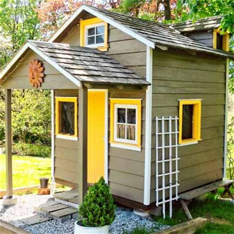 Converted Sheds by Relaxshacks A Shed Playhouse Converted Into A Tiny