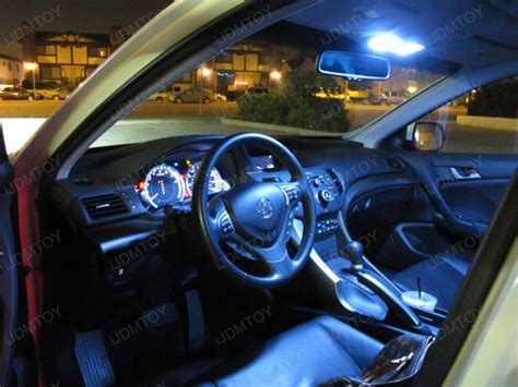 Tsx Interior Mods by Acura Tsx Direct Fit 128 Led Panel Led Interior Lights Package