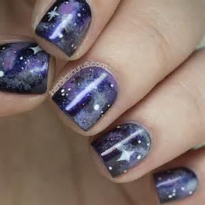 no7 galaxy with galaxy nail art the nailasaurus bloglovin