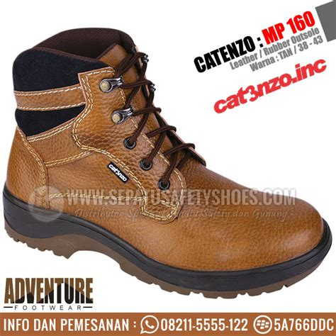 Sepatu Safety Catenzo Dm 102 sepatu gunung catenzo toko sepatu safety safety shoes sepatu gunung sepatu touring