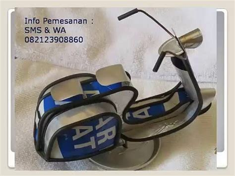 Jual Miniatur Motor Bebek 082123908860 jual miniatur motor vespa
