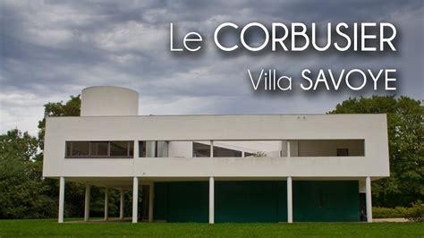 Make Your Floor Plan by Le Corbusier Villa Savoye Youtube