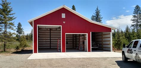 shop buildings shops and garages large shop and garage metal storage buildings pole building large garage