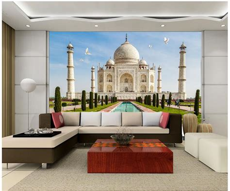 3d wallpaper for home wall india taj mahal wallpaper reviews online shopping taj mahal