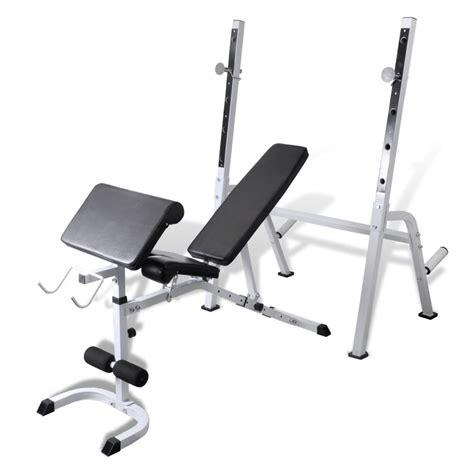 multi workout bench multi exercise workout bench www vidaxl com au