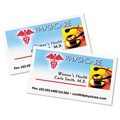 Avery 5871 Premium Clean Edge Business Cards Avery 5871 Template