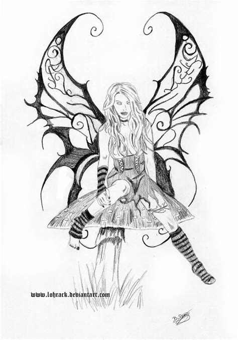 gothic fairy tattoo designs 51 tattoos collection
