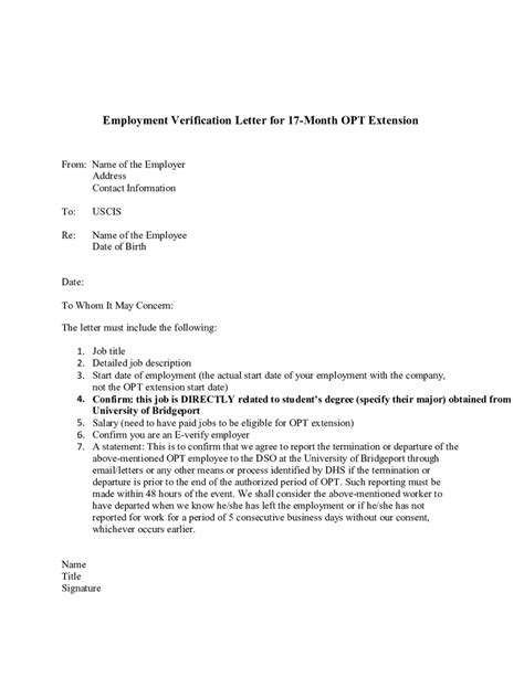how to write a letter for confirmation of employment gallery